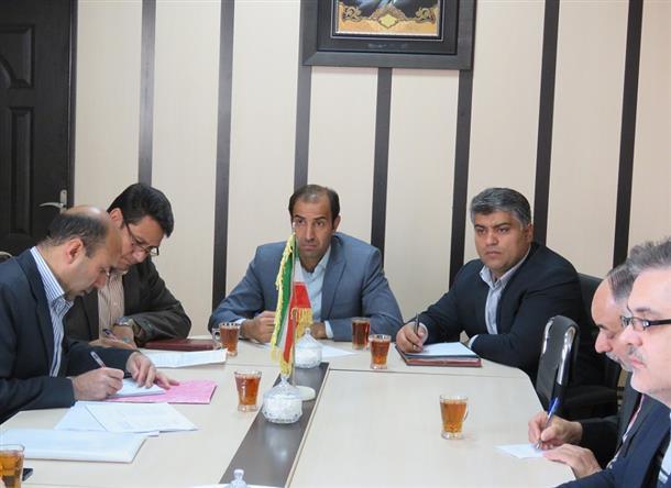 دومين جلسه ستاد انتخابات شهرستان خوسف برگزار شد