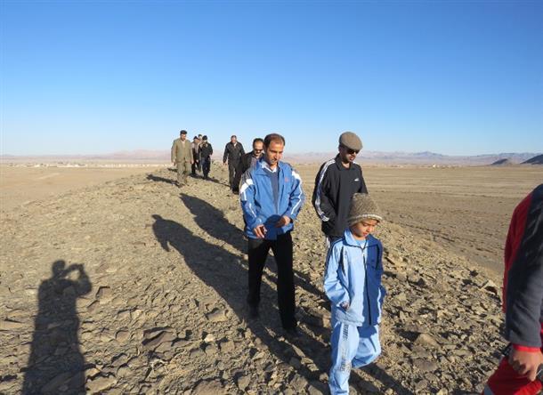 کوهپیمایی فرماندار خوسف به مناسبت هفته سلامت مردان